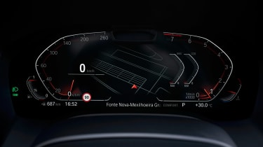 BMW 8 Series Gran Coupe - dials