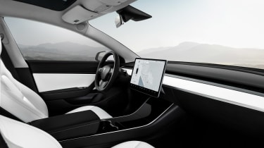 Tesla Model 3 Performance - cabin