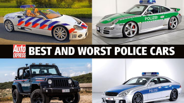 Best and worst police cars