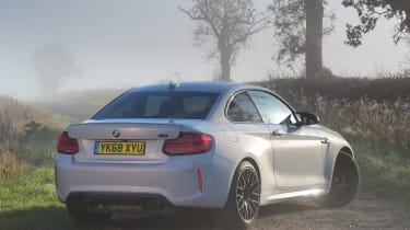 bmw m2 competition static rear