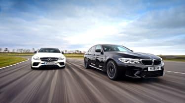 BMW M5 vs Mercedes-AMG E 63 S - tracking