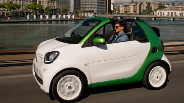 Smart ForTwo Electric Drive Cabrio - front