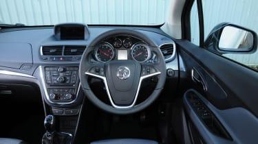 Vauxhall Mokka whisper diesel interior