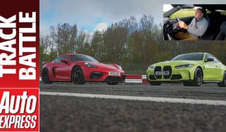 BMW M4 Competition vs Porsche Cayman GT4