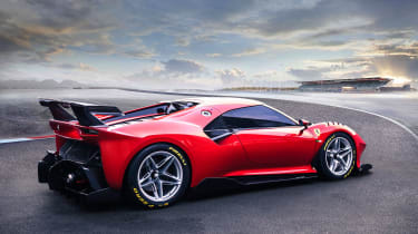 Ferrari P80/C - rear static