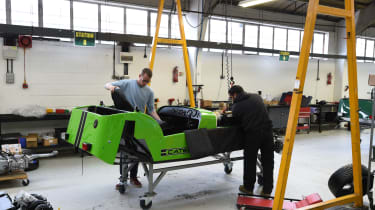 Long-term test review: Caterham 270S fitting seat