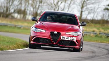 Alfa Romeo Giulia Quadrifoglio - front