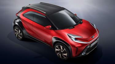 Toyota Aygo X prototype - studio front