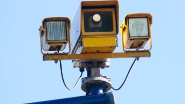 Speed camera variable speed