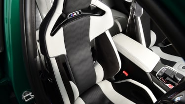 BMW M3 Competition - seats