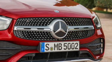 Mercedes GLC Coupe -  grille