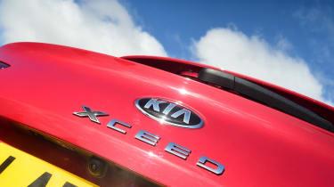 Kia XCeed - badge