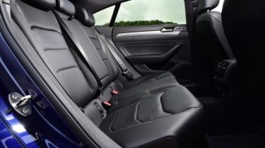 Twin test - VW Arteon - rear bench