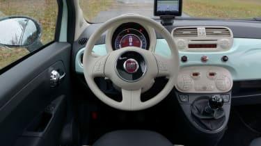 Fiat 500 Cult 2014 cabin