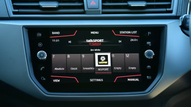 SEAT Ibiza infotainment