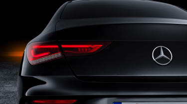 Mercedes CLA - studio rear light