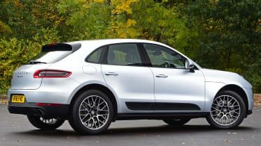 Porsche Macan S - rear quarter