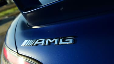 Mercedes-AMG GT R Roadster - AMG badge