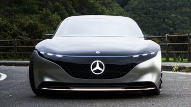 Mercedes EQS - full front