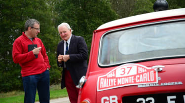 Mini Cooper S 1964 Monte Carlo rally winner