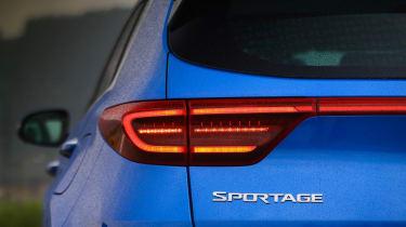 Kia Sportage - rear badge