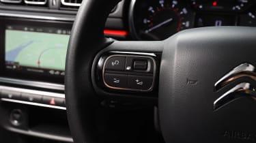 Citroen C3 long term test first report - steering wheel detail