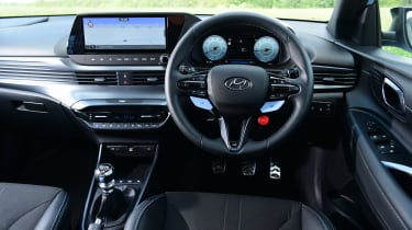 Hyundai i20 N - dash