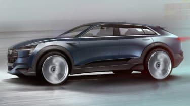 Audi Q6 e-tron sketch
