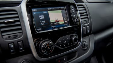 Renault Trafic SpaceClass - infotainment