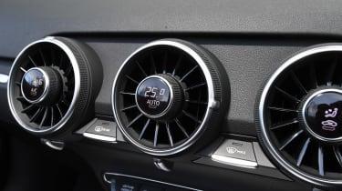 Audi TT Roadster - vents