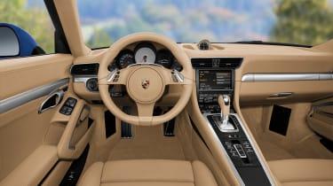Porsche 911 dash