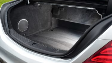 Mercedes S-Class - boot