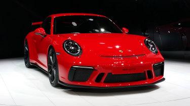 Porsche 911 GT3 show - full front