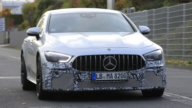 Mercedes-AMG GT four-door - Geneva front
