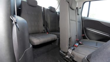 Used Vauxhall Zafira Tourer - rear seats