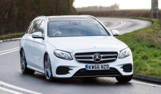 Mercedes E-Class Estate 2017 - E 220d 4MATIC front cornering