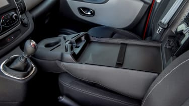 Nissan NV300 van folded seat
