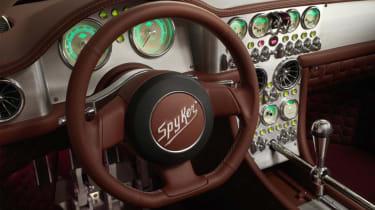 Spyker Preliator - Geneva 2016 - interior detail
