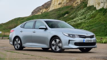 Kia Optima PHEV - front static