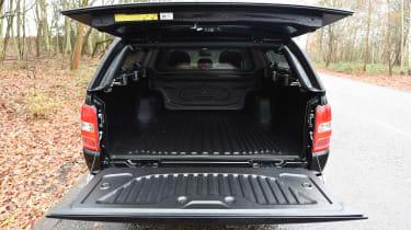 Fiat Fullback - boot
