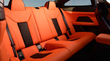 BMW M4 Competition - rear seats