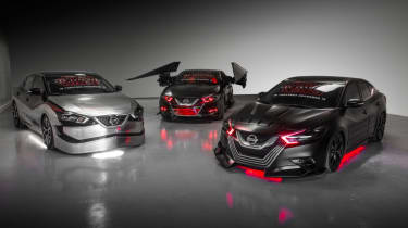Nissan Star Wars cars - three