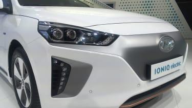 Hyundai Ioniq electric - Geneva - grille