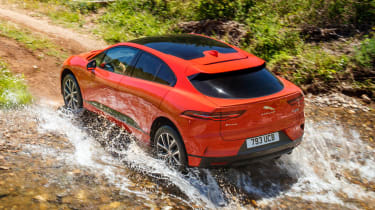 Jaguar I-Pace - rear water