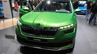 Skoda Kamiq - Geneva green full front