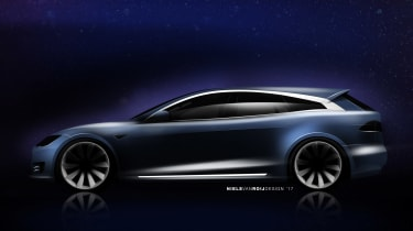 RemetzCar Shooting Brake - tesla