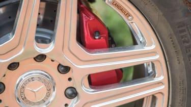 Mercedes-Maybach G 650 Landaulet - wheel detail