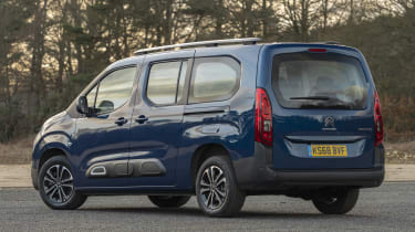 Berlingo rear static