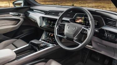 Audi e-tron - dash