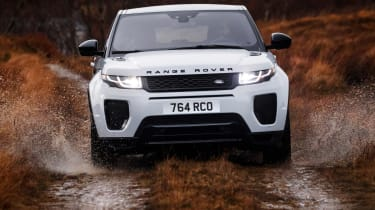 Range Rover Evoque 18MY 290PS - full front